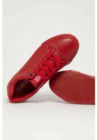 Big-Star - Big Star - Tenisówki. Nosek buta: okrągły. Zapięcie: sznurówki. Kolor: czerwony. Materiał: guma
