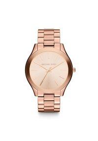 Różowy zegarek Michael Kors casualowy