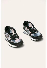 Czarne buty sportowe New Balance z okrągłym noskiem, na sznurówki, z cholewką #4