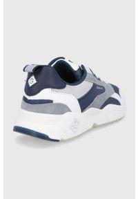 GANT - Gant - Buty Nicewill. Nosek buta: okrągły. Zapięcie: sznurówki. Kolor: niebieski. Materiał: guma