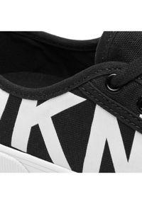 Czarne trampki DKNY