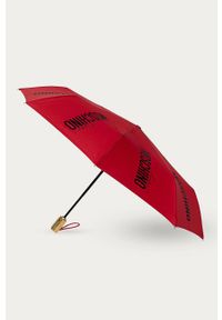 Czerwony parasol MOSCHINO