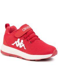 Kappa - Sneakersy KAPPA - Banjo 1.2 K 260686K Red/White 2010. Zapięcie: rzepy. Kolor: czerwony. Materiał: materiał. Szerokość cholewki: normalna