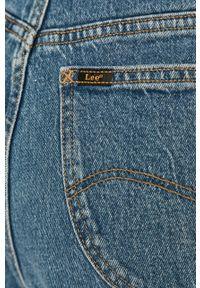 Niebieskie jeansy loose fit Lee z podwyższonym stanem