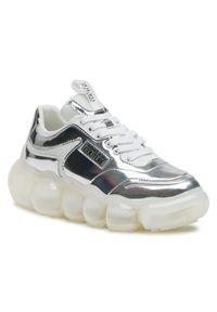 Versace Jeans Couture Sneakersy E0VWASN3 Srebrny. Kolor: srebrny