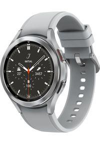 SAMSUNG - Smartwatch Samsung Galaxy Watch 4 Classic Stainless Steel 46mm LTE Szary (SM-R895FZSAEUE). Rodzaj zegarka: smartwatch. Kolor: szary