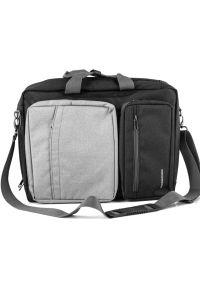 Szara torba na laptopa MODECOM casualowa