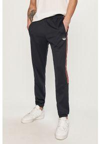 Niebieskie spodnie dresowe adidas Originals gładkie