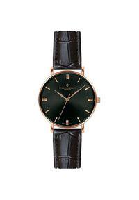 Frederic Graff Gasherbrum Black Croco Leather Strap Watch FBY-B009R. Styl: klasyczny, elegancki