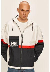 Biała kurtka Helly Hansen z kapturem