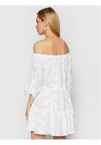 Biała sukienka na co dzień, casualowa