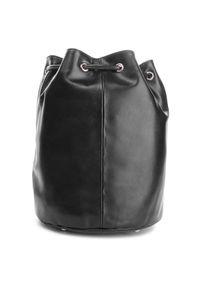 Czarna torebka worek Kazar klasyczna