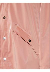 Rains Kurtka przeciwdeszczowa Unisex 1202 Różowy Regular Fit. Kolor: różowy