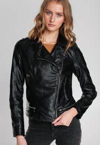 Renee - Czarna Ramoneska Blackburn. Kolor: czarny