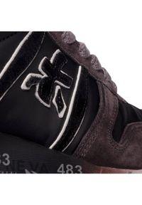 Premiata Sneakersy Lander 4951 Szary. Kolor: szary