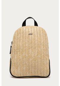 Beżowy plecak Roxy gładki
