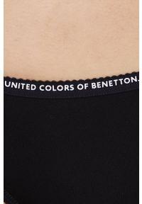 United Colors of Benetton - Figi. Kolor: czarny. Materiał: bawełna