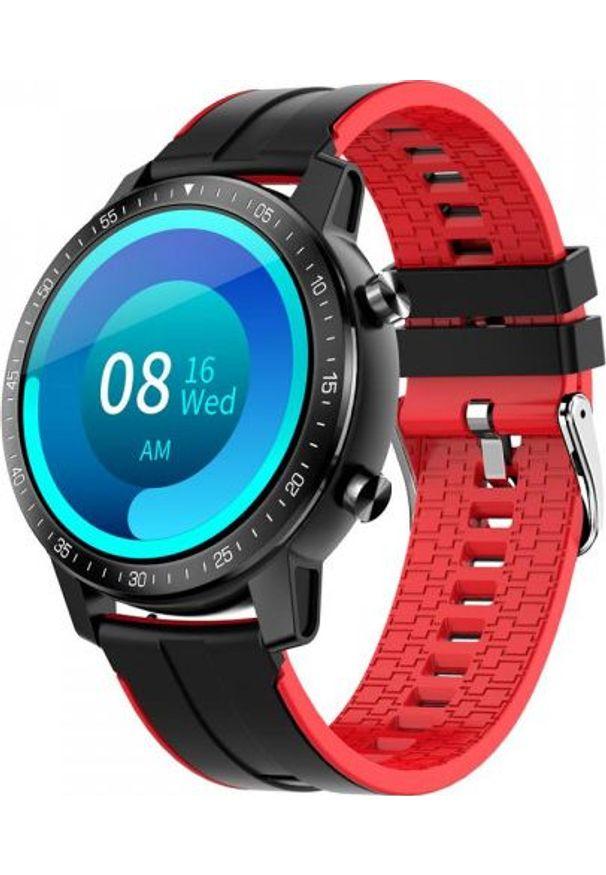 Smartwatch Senbono S30 Czerwony (28442). Rodzaj zegarka: smartwatch. Kolor: czerwony