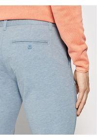 Only & Sons Spodnie materiałowe Mark 22015833 Niebieski Tapered Fit. Kolor: niebieski. Materiał: materiał