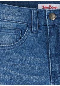 Niebieskie jeansy bonprix casualowe, na co dzień