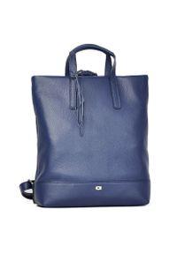 Niebieski plecak DAAG casualowy