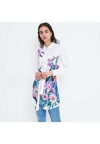 Mohito - Koszula w kwiaty Eco Aware - Biały. Kolor: biały. Wzór: kwiaty