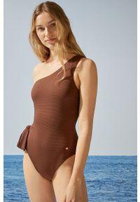 Women Secret - Strój kąpielowy. Kolor: brązowy. Materiał: dzianina