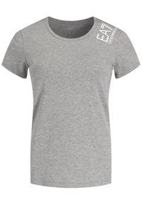 EA7 Emporio Armani T-Shirt 6GTT12 TJ29Z 3905 Szary Regular Fit. Kolor: szary