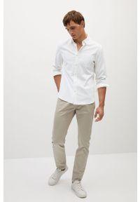 Biała koszula Mango Man elegancka, z klasycznym kołnierzykiem, długa, na co dzień #9