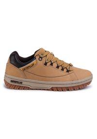 CATerpillar Sneakersy Apa P711588 Brązowy. Kolor: brązowy