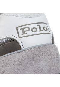 Szare półbuty Polo Ralph Lauren z cholewką