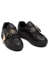 Versace Jeans Couture Sneakersy E0VWASK9 Czarny. Kolor: czarny