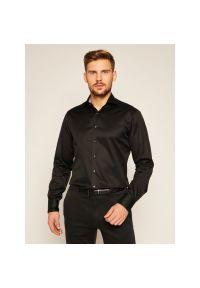 Czarna koszula biznesowa Stenströms