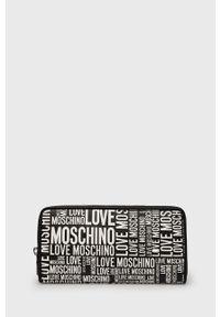 Love Moschino - Portfel. Kolor: czarny. Materiał: materiał