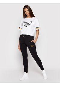 EVERLAST T-Shirt 763030-50 Biały Regular Fit. Kolor: biały