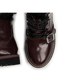 Czerwone buty zimowe Pepe Jeans