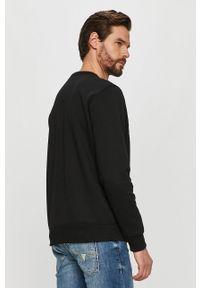 Czarna bluza nierozpinana G-Star RAW casualowa, na co dzień, bez kaptura, z nadrukiem