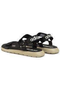 Czarne sandały trekkingowe Adidas na lato