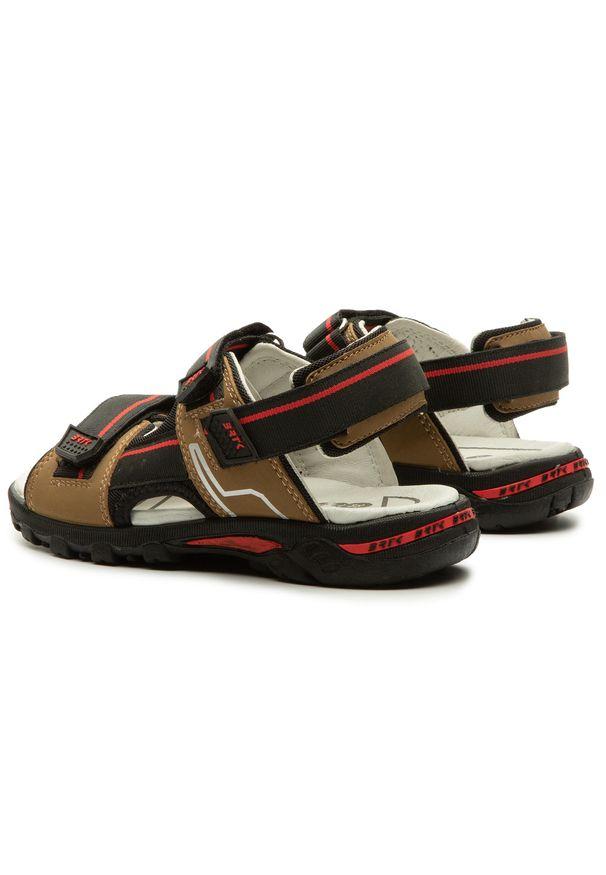 Brązowe sandały Bartek na lato
