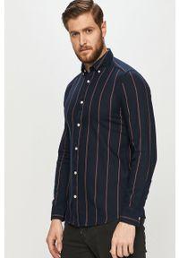 Niebieska koszula Only & Sons z długim rękawem, button down, casualowa