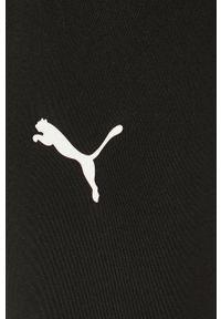 Czarne legginsy Puma z podwyższonym stanem