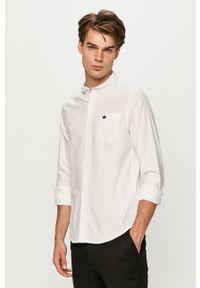 Biała koszula Brave Soul na co dzień, button down, długa