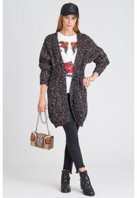 Wielokolorowy sweter Pinko z kapturem