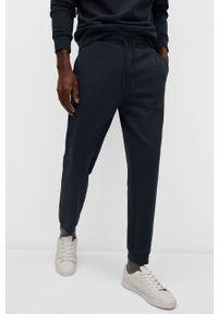 Niebieskie spodnie dresowe Mango Man gładkie