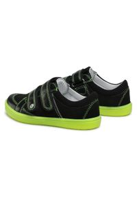 Bartek - Sneakersy BARTEK - 15568001 Czarny. Okazja: na spacer, na co dzień. Zapięcie: rzepy. Kolor: czarny. Materiał: skóra, zamsz. Styl: casual