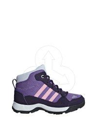 Buty trekkingowe Adidas wąskie, z cholewką