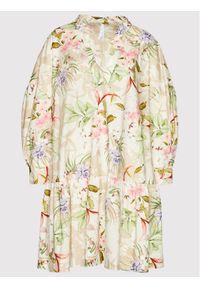 Imperial Sukienka letnia ABVWBNB Beżowy Regular Fit. Kolor: beżowy. Sezon: lato