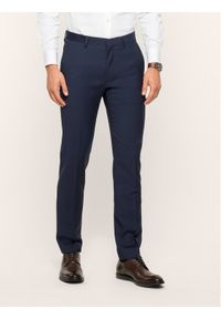 Niebieskie spodnie garniturowe Roy Robson