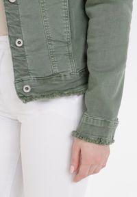 Zielona kurtka jeansowa Born2be