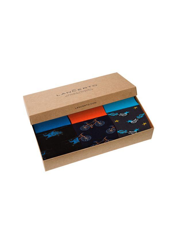 Skarpetki Lancerto w kolorowe wzory
